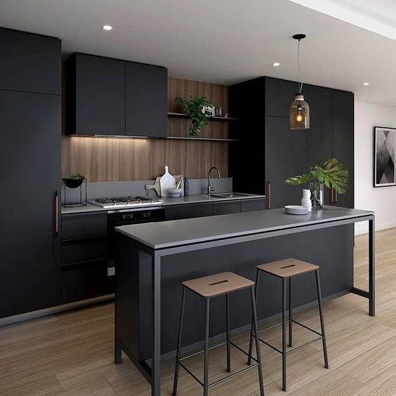 Image Result For Industrial Style Island Bench Modern Kitchen