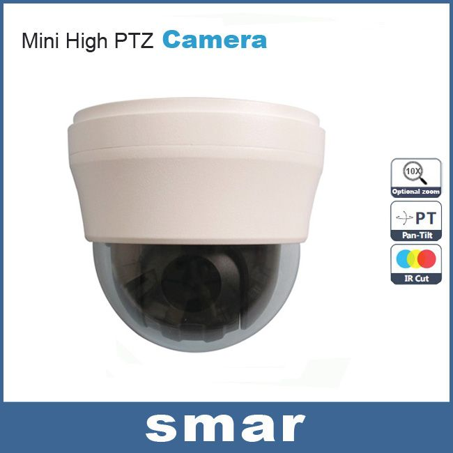 $147.97 (Buy here: http://appdeal.ru/cv1u ) 700TVL Sony CCD Effio-e Security Home 10 X Optical Zoom Lens Vandalproof Mini PTZ Speed Dome CCTV Camera Free Shipping for just $147.97