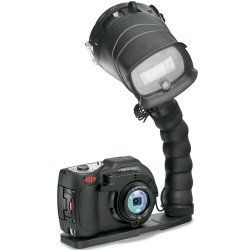 SeaLife DC1400 Pro 14MP HD Underwater Digital Camera with Flash & Flex Arm Bracket Waterproof up to 200 ft