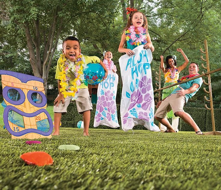 Keep Your Luau Party Going Strong With Luau Games And Toys