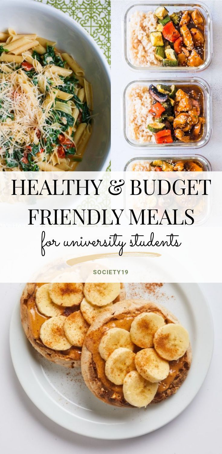 Healthy And Budget Friendly Meals For University Students images