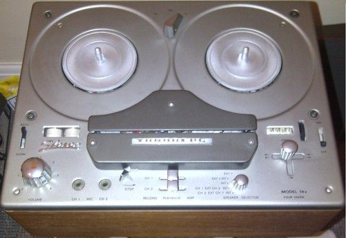 VINTAGE TANDBERG REEL TO REEL 741B STEREO RECORDER PLAYER WITH ORGINAL BOX