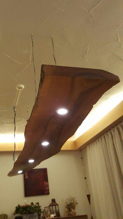 Holzlampe Lampen Holz Rustikal Deckenlampe Holz Lampen