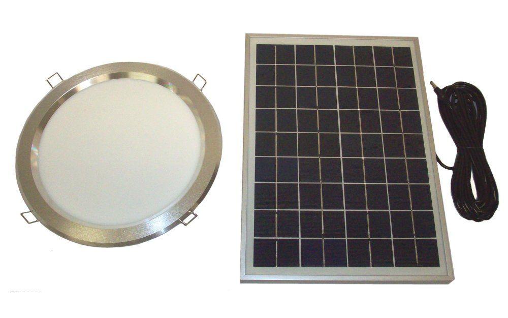 Amazon Com Rand 10w Solar Powered Led Skylight Panel Tube