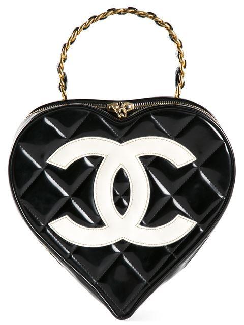 62ec6b2def83 Chanel Vintage Heart Shaped Tote - Bella Bag - Farfetch.com | Мод ...