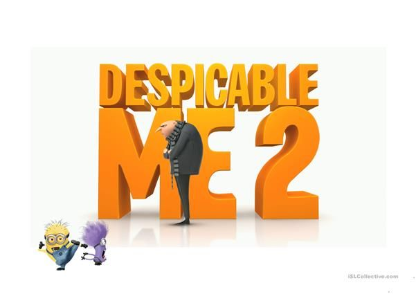 Despicable Me Powerpoint game | ESL Powerpoints of the day