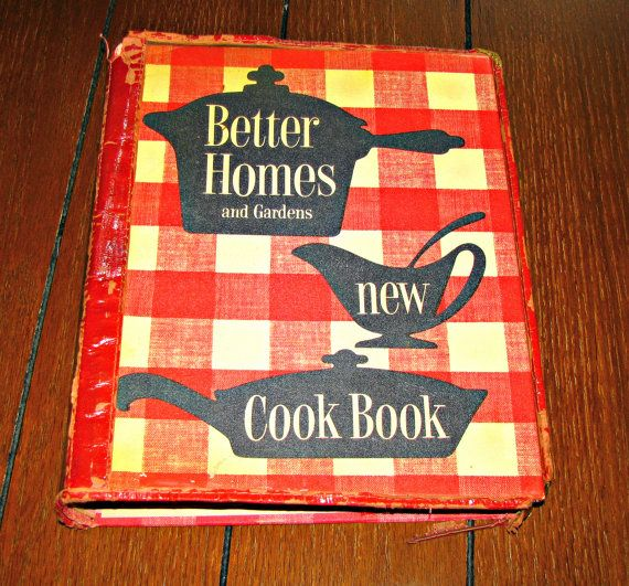 Better Homes And Gardens New Cook Book, 1953 First Edition, First Printing,  With