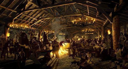 hall Viking mead