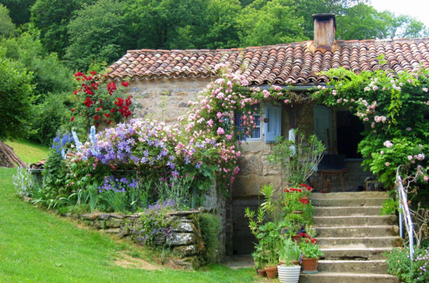 Bon Beautiful French Cottage Garden Design Ideas 22