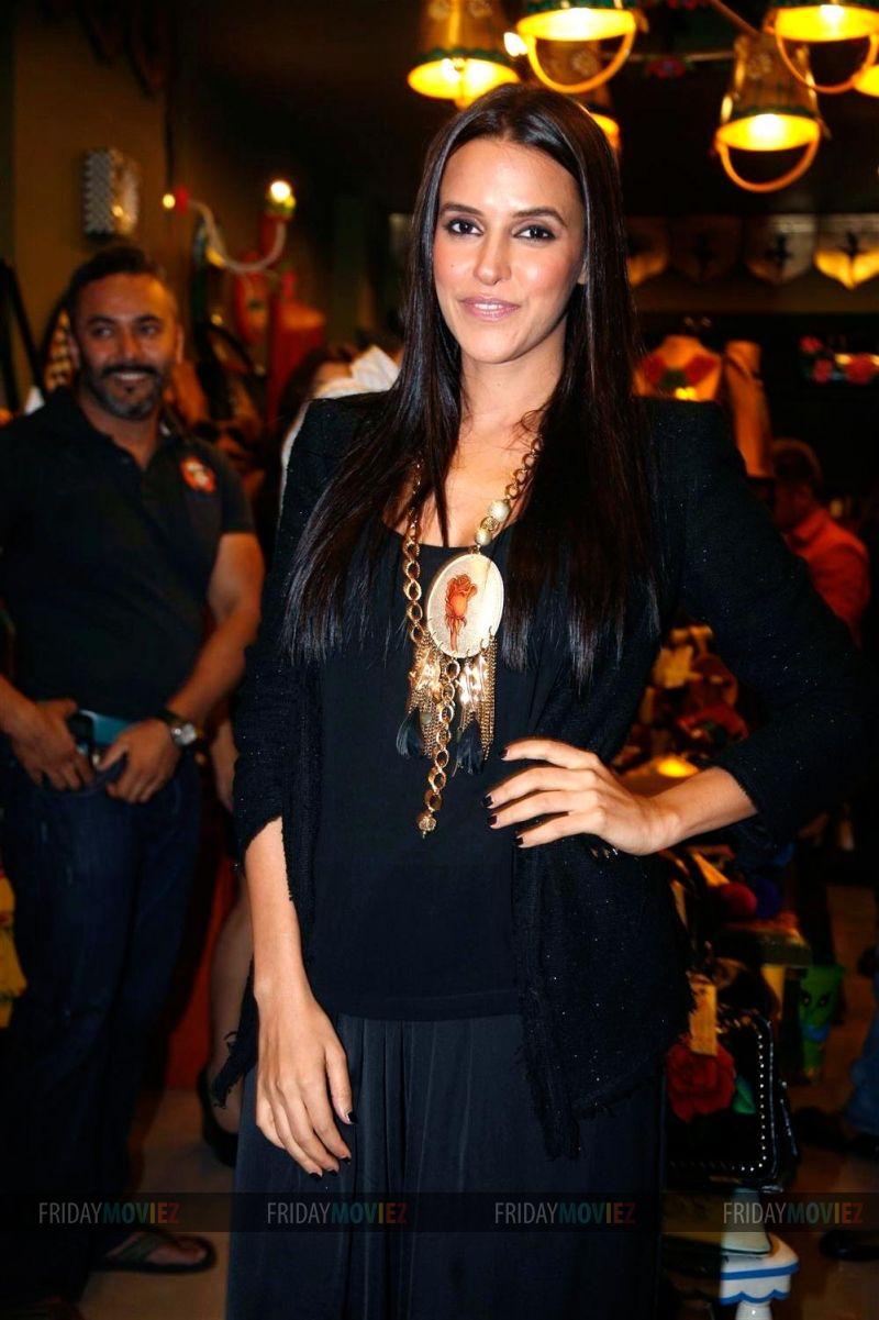 Neha Dhupia at the launch of designer Rashmi Dogra's new store