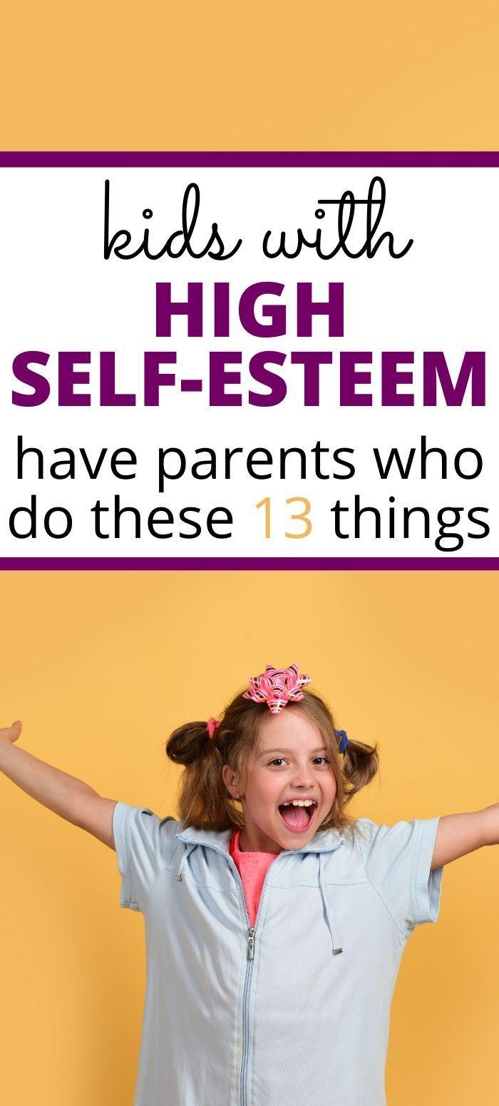 Photo of Raising Kids With High Self Esteem Parenting Tip