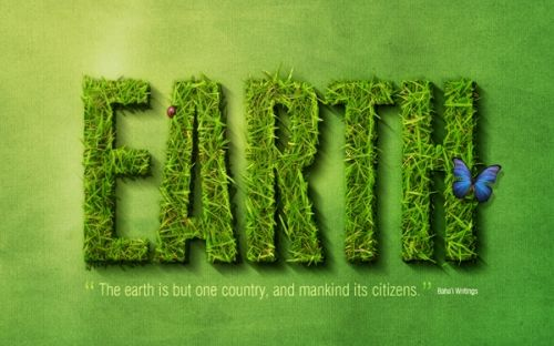 Grass text effect.  I love this one!