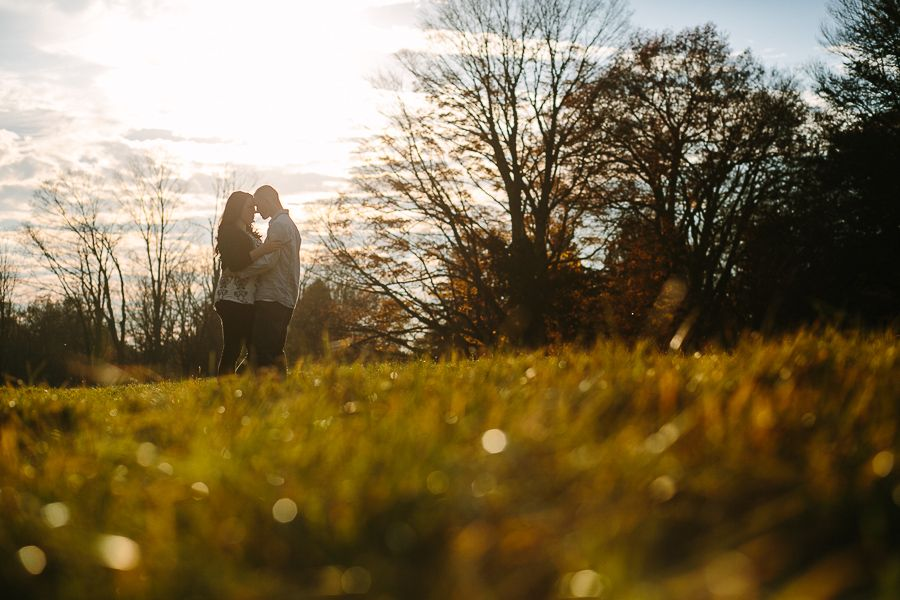 Minute Man National Park Engagement Photography