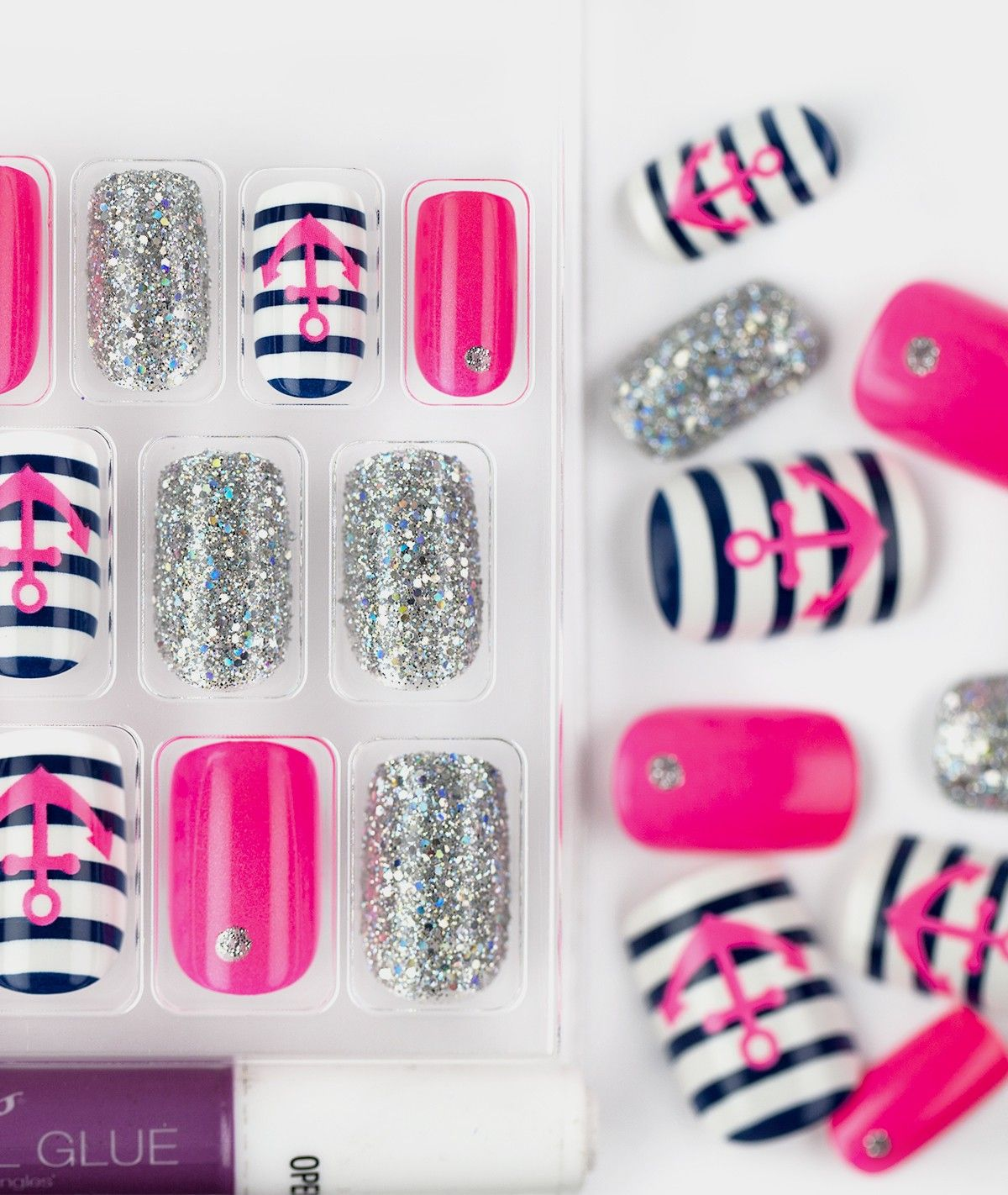 The Collection Nails by KISS - Fascination - Nails | False nails ...