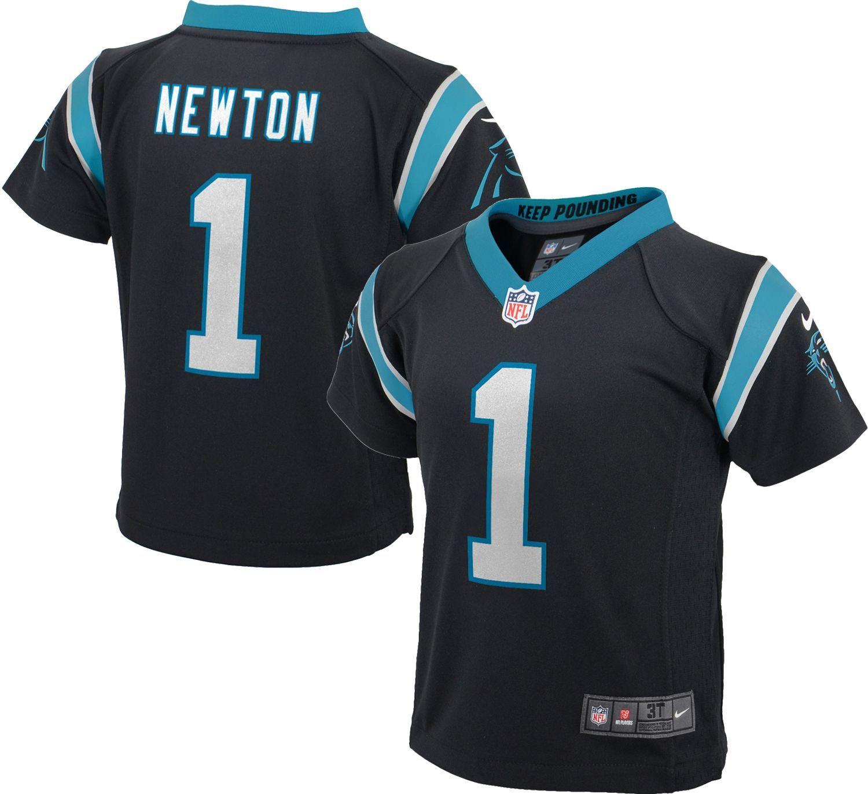 e80bb560e Nike Toddler Home Game Jersey Carolina Cam Newton #1, Toddler Unisex, Size:  4T, Team