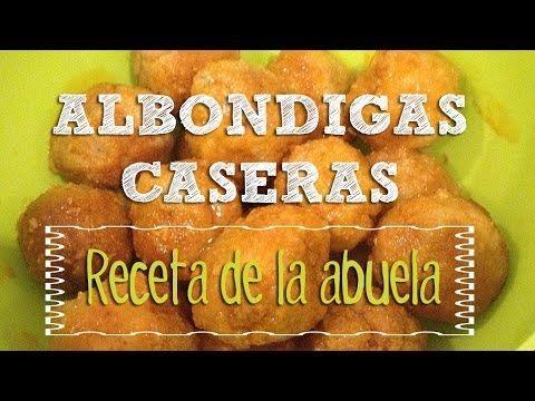 Recetas De Cocina Casera Para Niños   Albondigas En Salsa De Tomate Recetas De Cocina Para Ninos