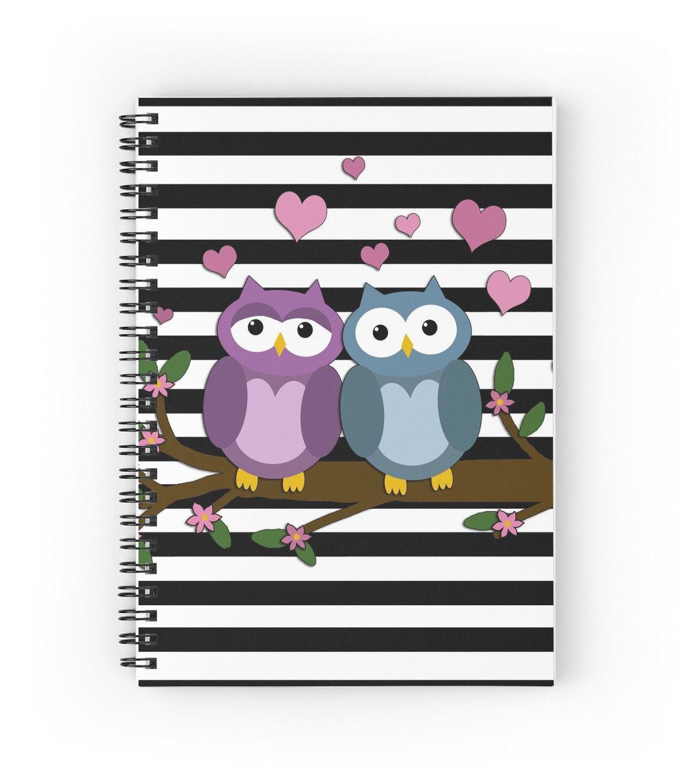 Valentines day owls  by Momcilo Bjekovic