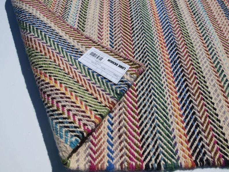 Dywan Indus Multi Linie Design Kolorowy Najlepsze
