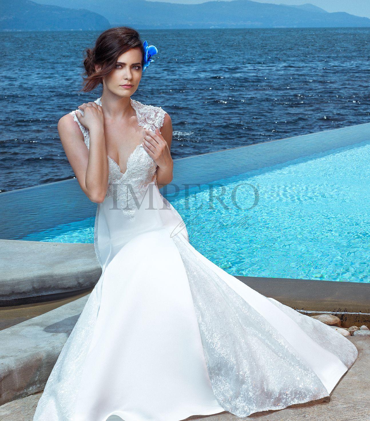 1560471e841f GIULIA  sposa  abiti  dress  bride  bridal  wedding  2017  impero ...