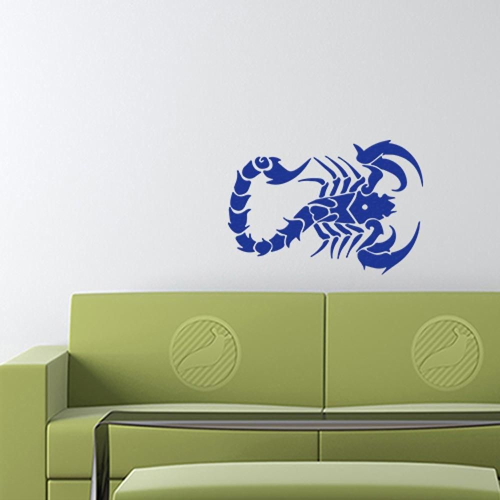 Scorpion decal boat stickers bumper stickers wall stickers window decals vinyl decals