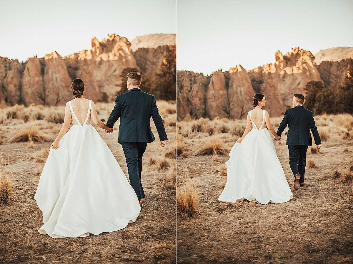 Smith Rock State Park Elopement Wedding, in Terrebonne ...