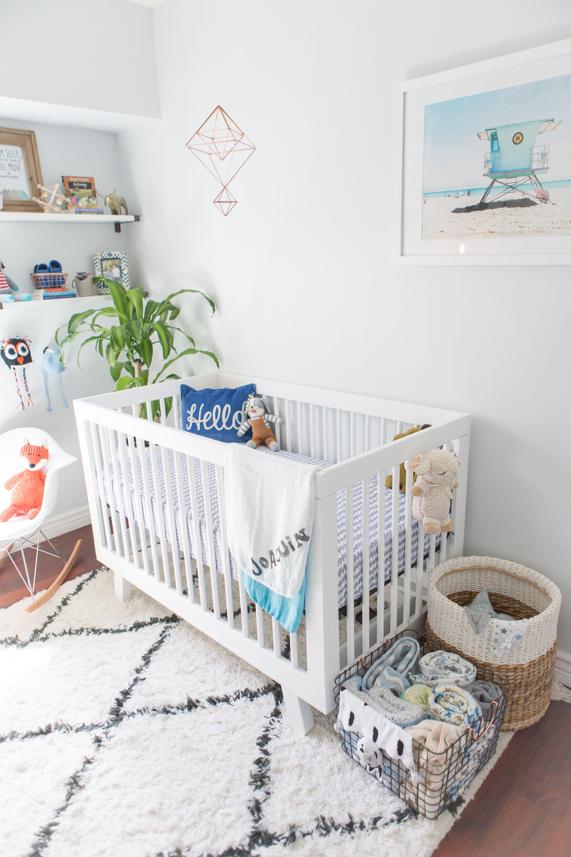 Joaquin Tobias Nursery The Details Cool Blue Nursery Boho