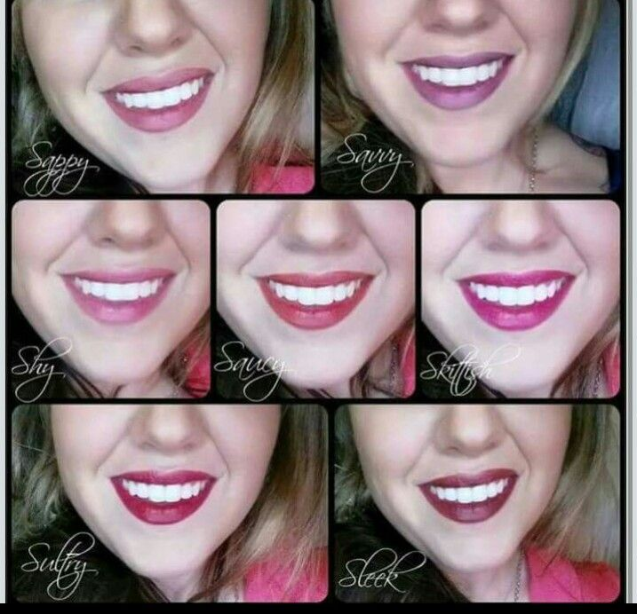 All The Brand New Younique Stiff Upper Lip Stains Shy