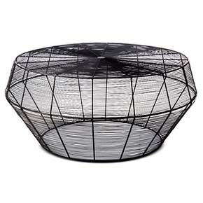 Linhigh Coffee Table Woven Wire Threshold Target Wire