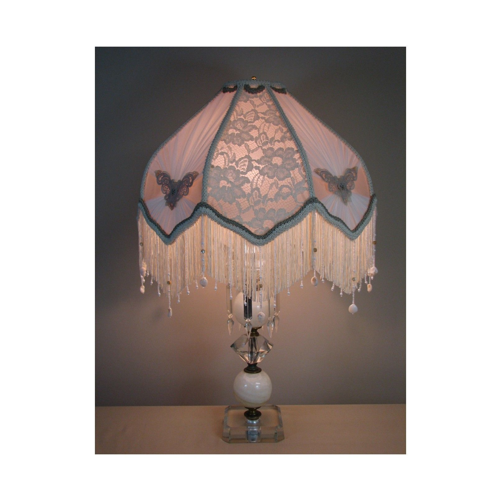 Vintage table lamp with victorian lamp shade scarlett 0405 from the suzanne michelle illuminations heirloom collection this scarlett table lamp art piece reminds me of a southern victorian era aloadofball Image collections