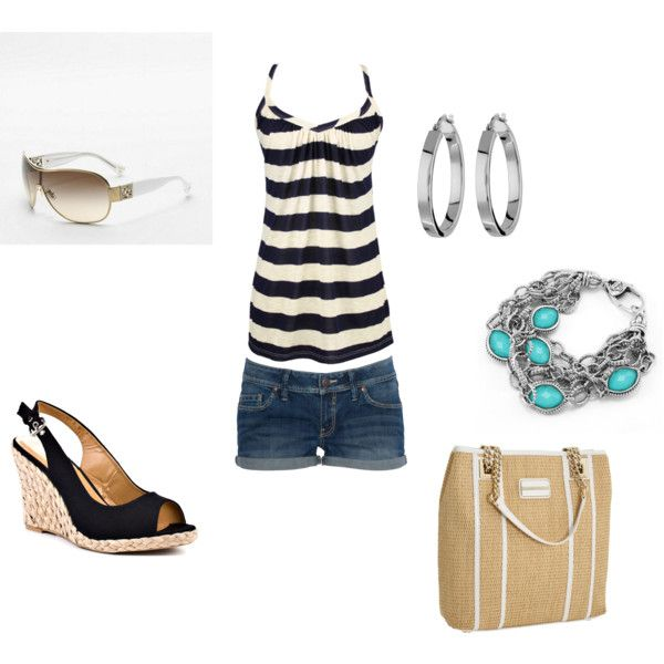 Summertime, created by nburns on Polyvore