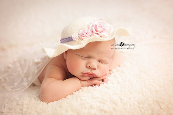 Newborn easter bonnet baby cloche hat lady edith cloche vintage style cloche hat · cloche hatsphotography propsnewborn