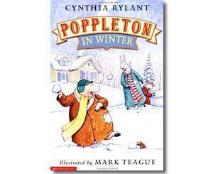 poppleton in winter by cynthia rylant mark teague illustrator winter books for kids. Black Bedroom Furniture Sets. Home Design Ideas