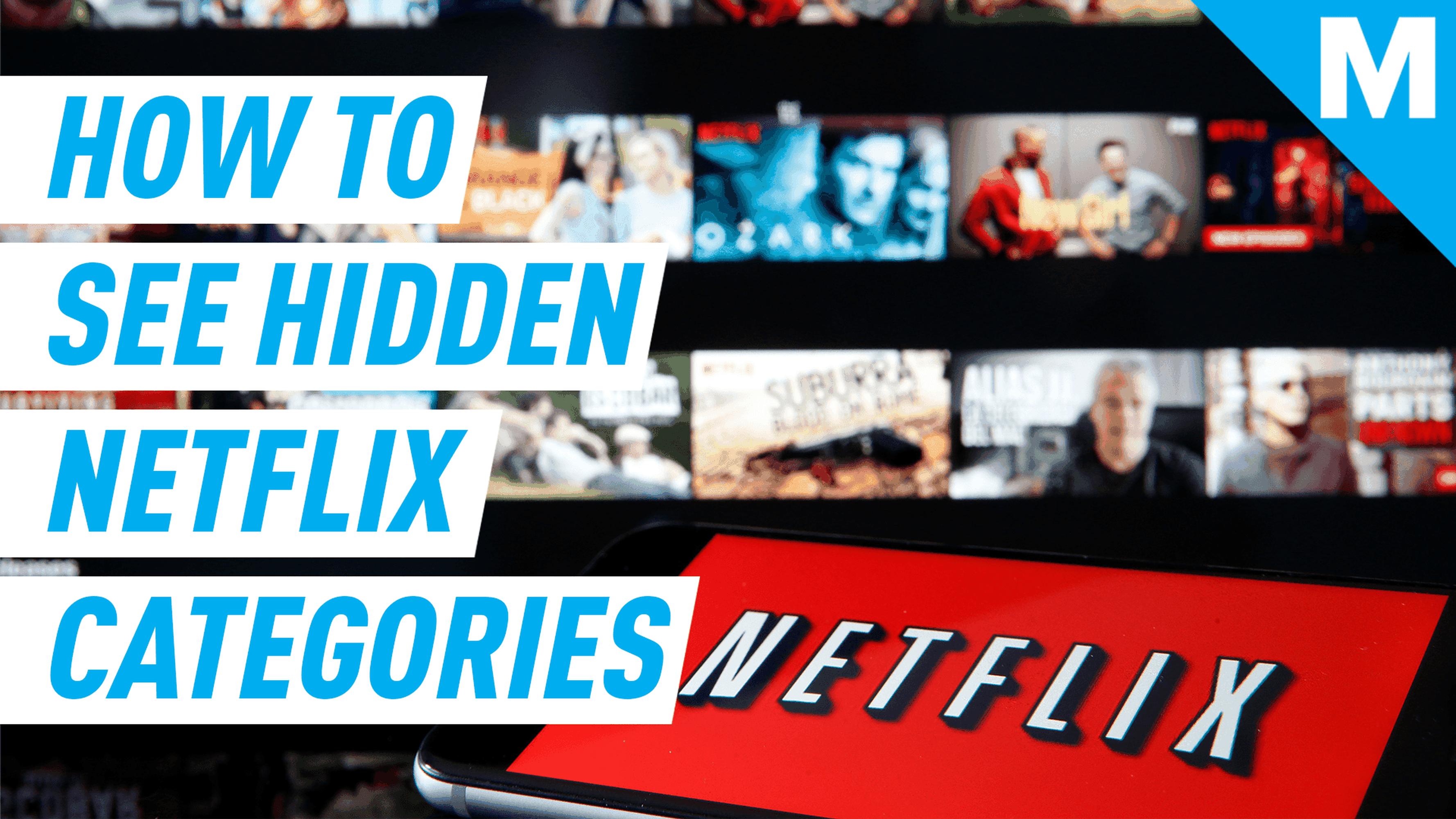 The secret Netflix codes to find tons of hidden categories