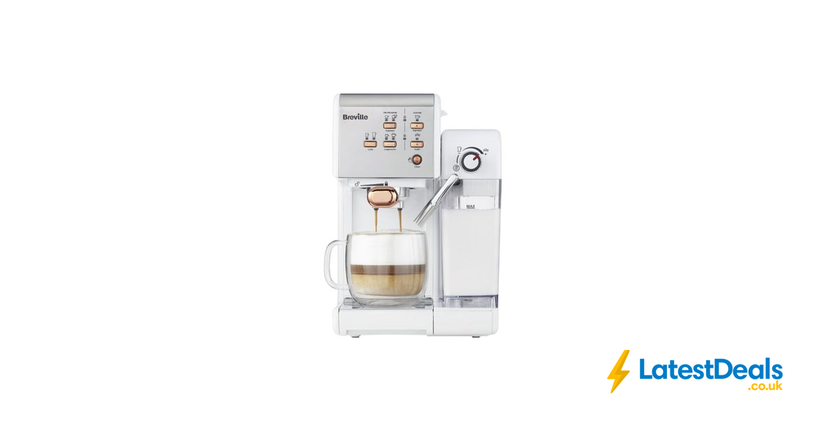 Half Price Breville One Touch Vcf108 Coffee Machine 4 Colours 149 At Currys Pc World Coffee Machine Breville Coffee