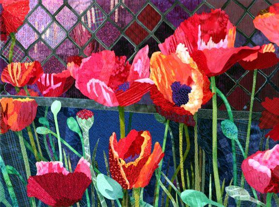 Roadside poppies by Denise O. Miller
