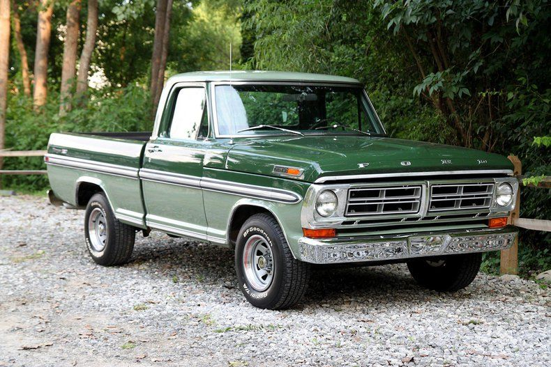 1971 Ford F100 Ranger Xlt Carros Y Camionetas Camionetas Ford