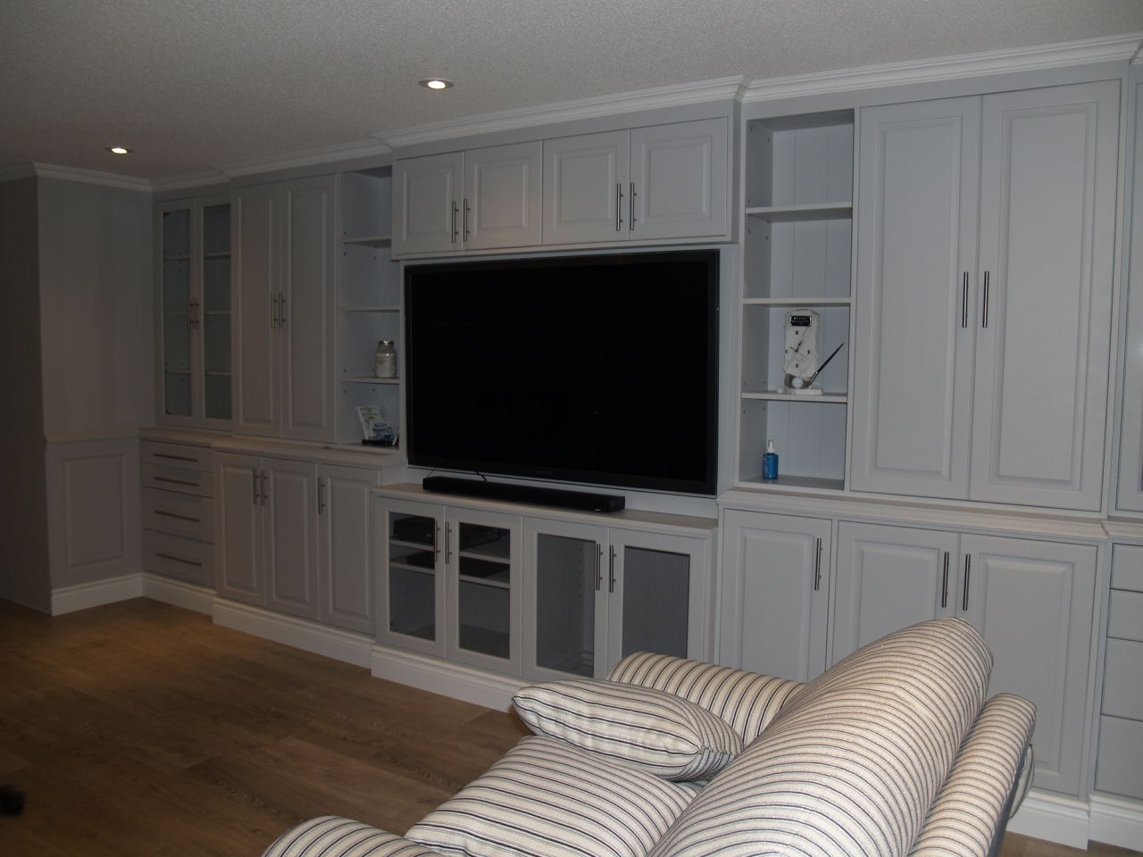 Wall Unit, Painted Furniture, Entertainment Unit, Built in ...