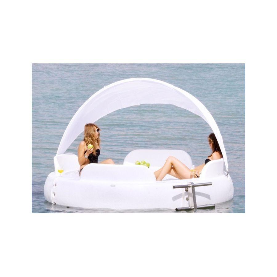 Ideal para playas y piscinas lona microperforada escalera de acero galvanizado 1 - Piscinas de acero galvanizado ...