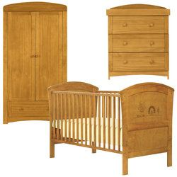 Olive Henri Nursery Furniture Set In Antique