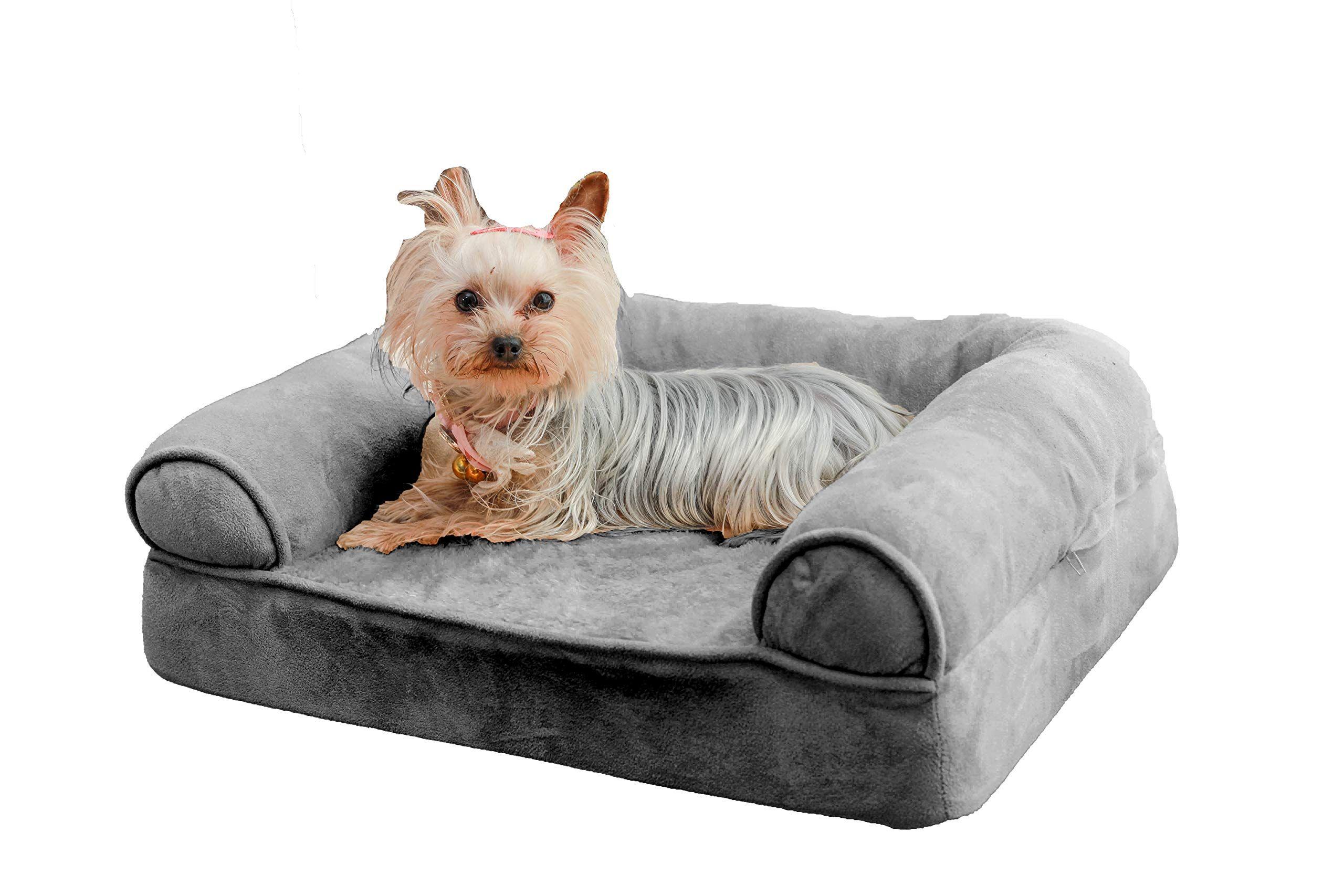 Large Orthopedic Dog Sofa Bed, Comfortable Sofa Style Pet