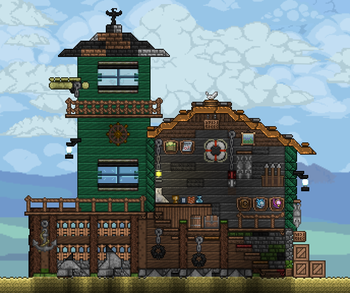 Pc Ballin Houses By Eiv: Terrarium, Terraria House