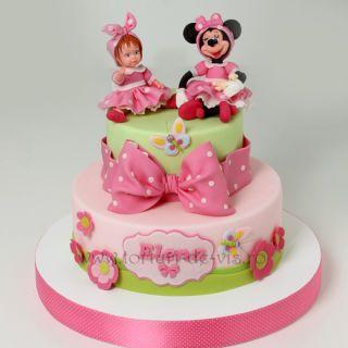 Elena and Minnie Mouse - CakesDecor