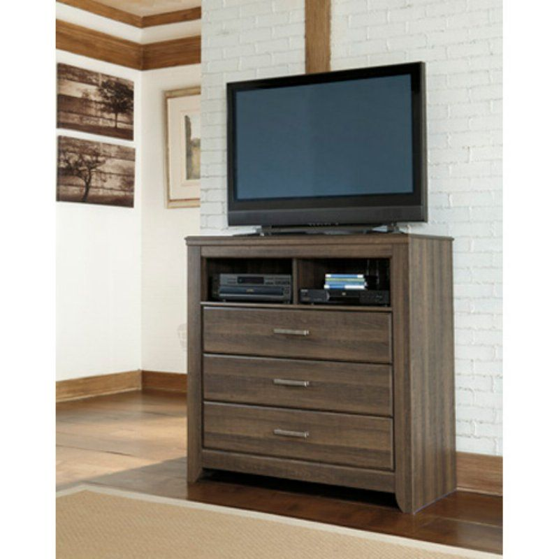 Patio Furniture Stores In Fayetteville Nc: Signature Design By Ashley Juararo 3 Drawer Media Chest