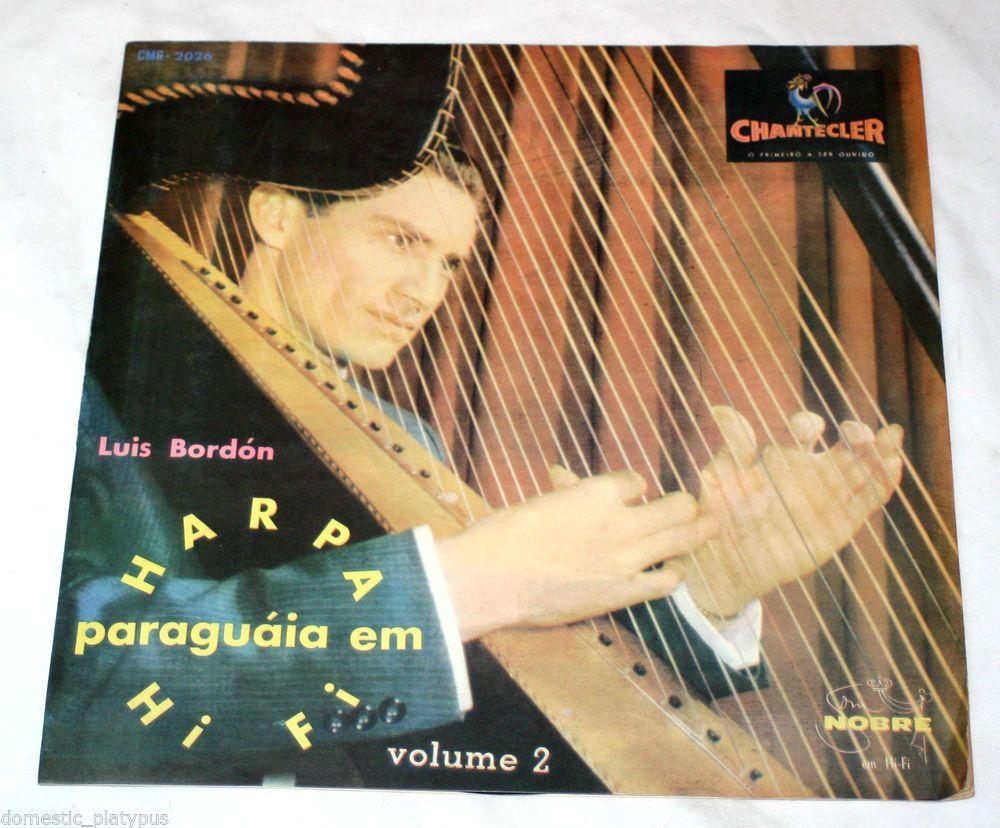 luis bordon harpa paraguaia