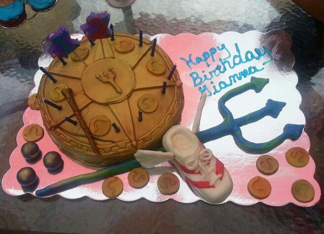 Giannas Percy Jackson Cake My Cakes In 2018 Pinterest Percy