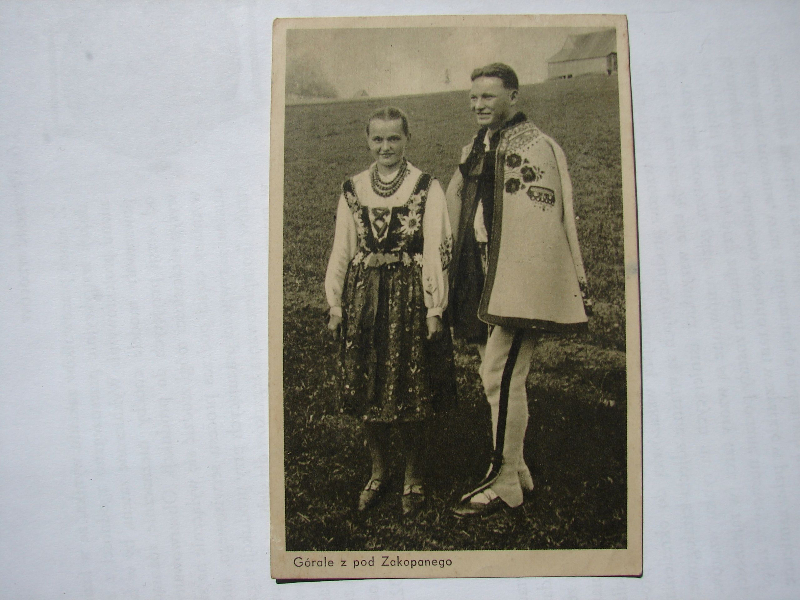 Gorale I Goralki W Wachulski 1951 Rok 7836546597 Oficjalne Archiwum Allegro My Heritage Zakopane Folk