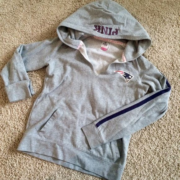 Victoria s Secret PINK patriots sweatshirt size M Victoria s Secret Pink  brand size Medium New England Patriots 362535ff4