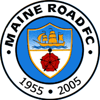 Maine Road F C Manchester City Manchester City Logo Manchester City Football Club