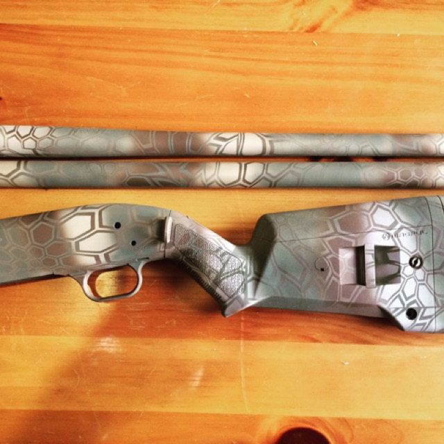 Pack of 4 Kryptek Style Vinyl Paint Stencil Cerakote Gun-Kote Guns Equipment