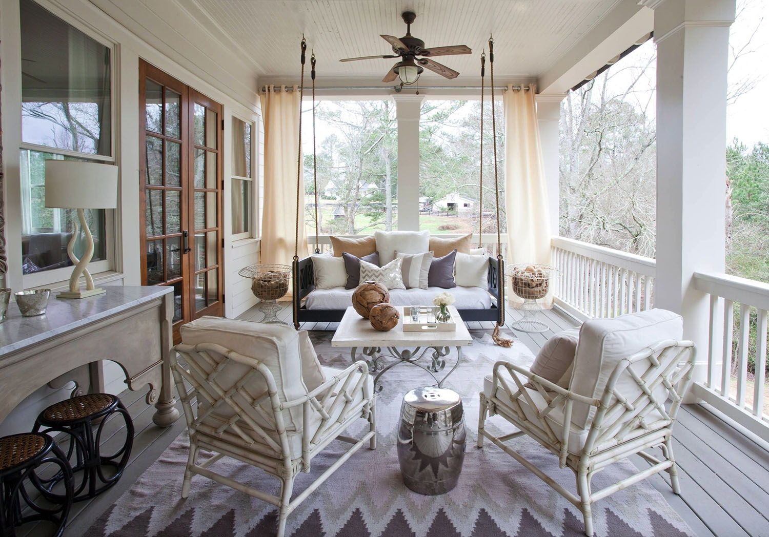 pin on inspiration on porch swing ideas inspiration id=90697